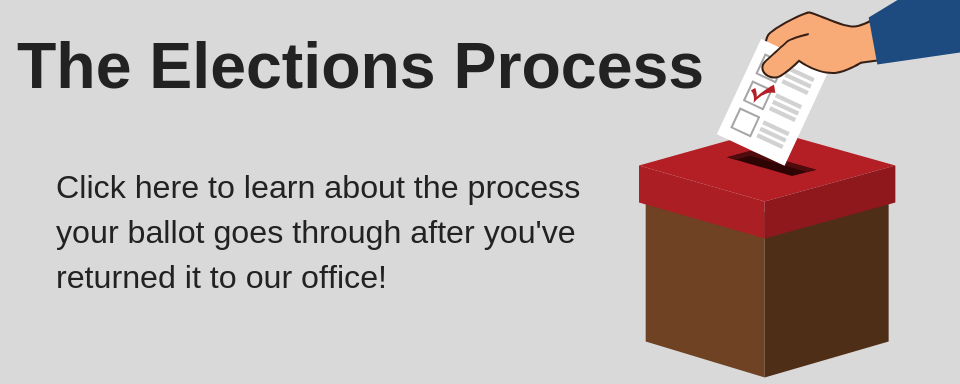 The Elections Process