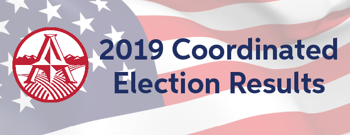 2019 Coordinated Election Official Results