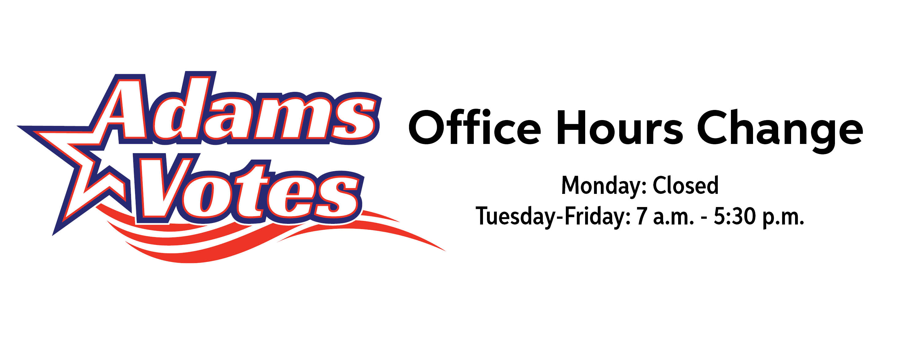Office Hours Change