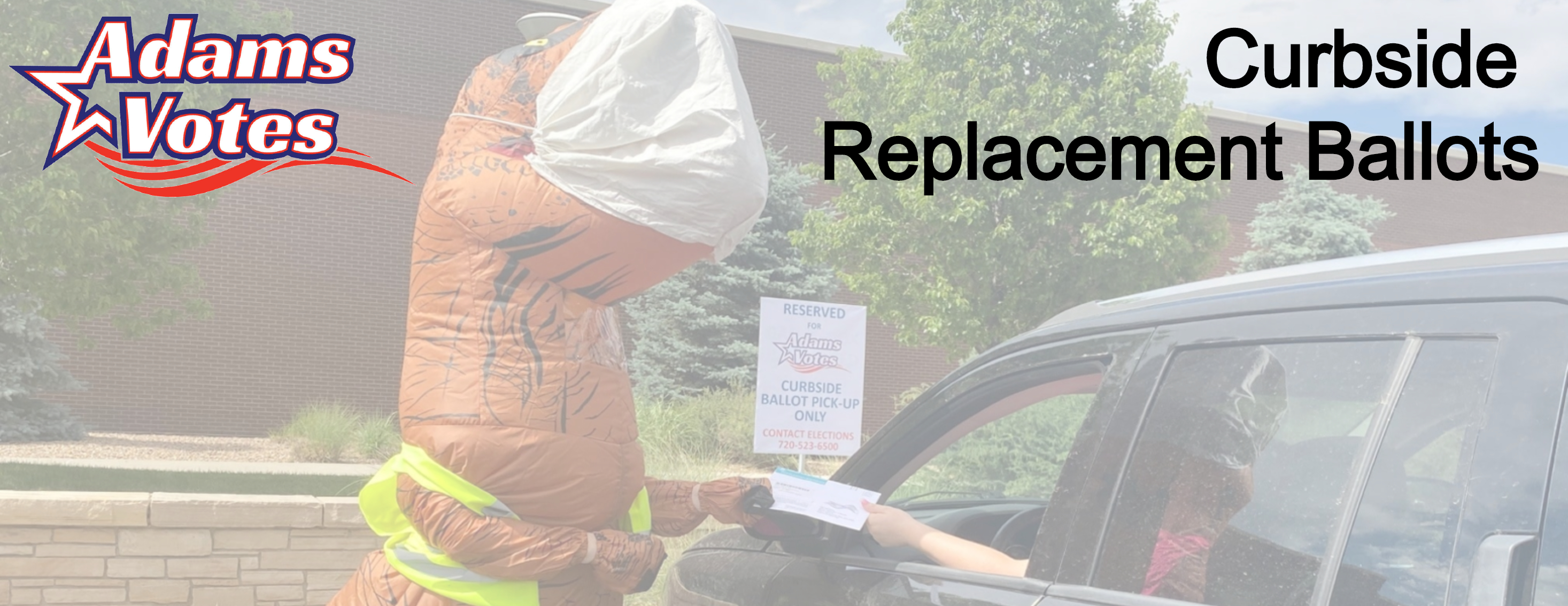 Curbside Replacement Ballots