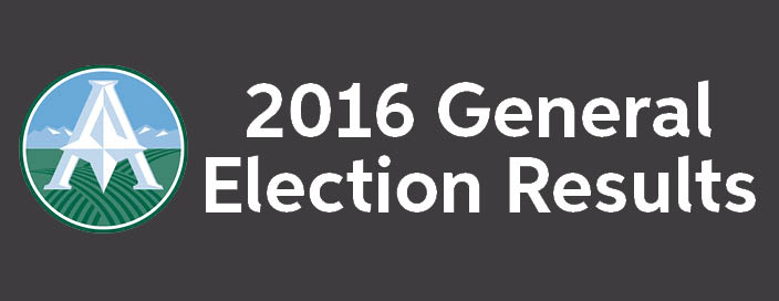 2016 General Election Results